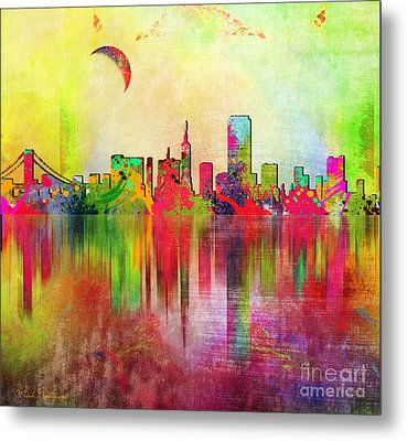 San Francisco  Metal Print by Mark Ashkenazi