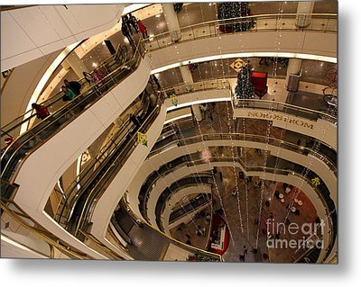 San Francisco Nordstrom Department Store - 5d20641 Metal Print by Wingsdomain Art and Photography