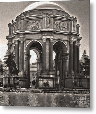 San Francisco - Palace Of Fine Arts - 01 Metal Print by Gregory Dyer