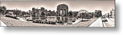 San Francisco - Palace Of Fine Arts - 03 Metal Print by Gregory Dyer