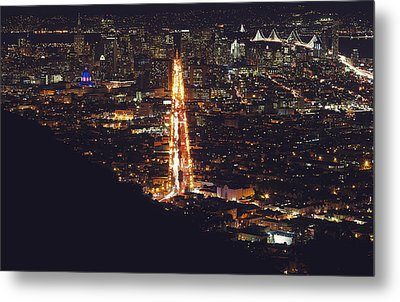 San Francisco Skyline  Metal Print by Kenny Noddin