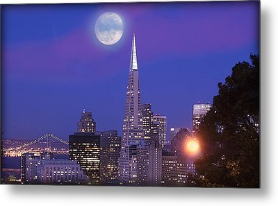San Francisco - A Golden Handcuff Metal Print