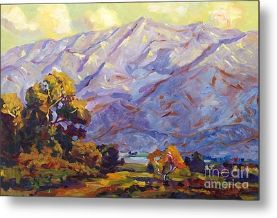 San Gabriel Mountains Metal Print