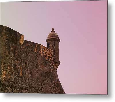 San Juan - City Lookout Post Metal Print