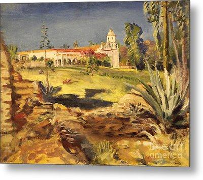 San Luis Rey Mission 1947 Metal Print