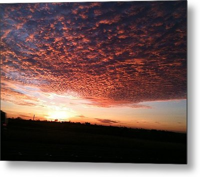 Metal Print featuring the photograph San Marcos Sunrise by David  Norman