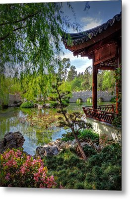 San Marino - Huntington Botanical Gardens 006 Metal Print by Lance Vaughn