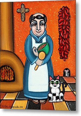 San Pascual And Felix Metal Print by Victoria De Almeida