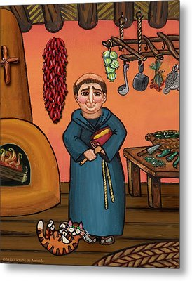 San Pascual And Vigas Metal Print