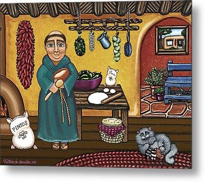 San Pascuals Kitchen Metal Print by Victoria De Almeida