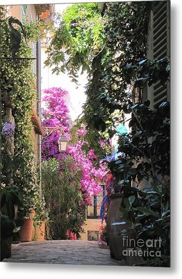 Metal Print featuring the photograph St Tropez by HEVi FineArt