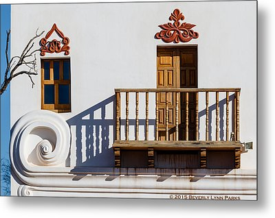 Metal Print featuring the photograph San Xavier Swirl by Beverly Parks