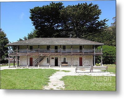 Sanchez Adobe Pacifica California 5d22644 Metal Print by Wingsdomain Art and Photography
