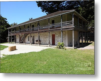 Sanchez Adobe Pacifica California 5d22647 Metal Print by Wingsdomain Art and Photography