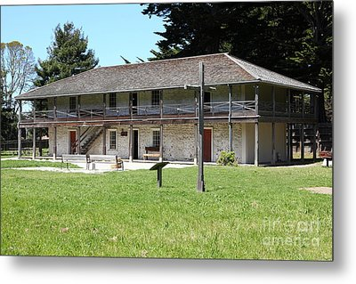 Sanchez Adobe Pacifica California 5d22650 Metal Print by Wingsdomain Art and Photography
