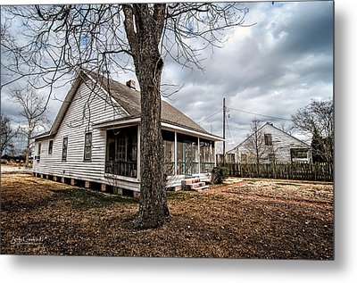 Sanchez Home 7 Metal Print by Andy Crawford