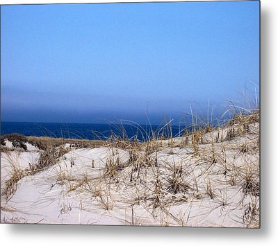 Sand And Sky Metal Print by Catherine Gagne