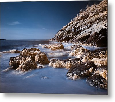 Metal Print featuring the photograph Sand Beach by Steve Zimic