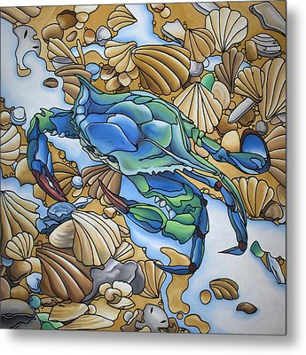 Blue Sally  Metal Print