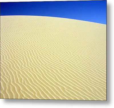 Sand Dune Metal Print by Ramona Johnston