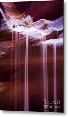Sand Flow Metal Print by Angelika Drake