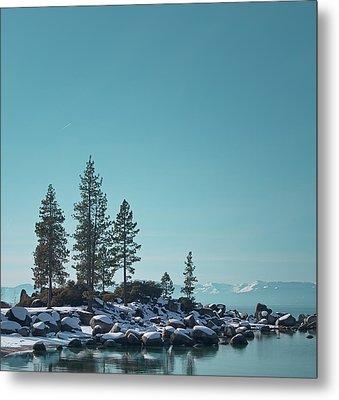 Sand Harbor-lake Tahoe Metal Print by Kim Hojnacki