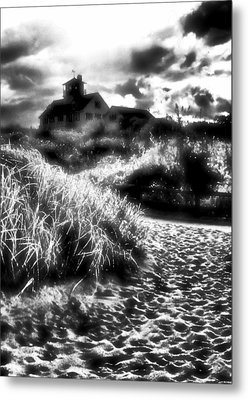 Metal Print featuring the photograph Sand In Ma Shoes by Robert McCubbin