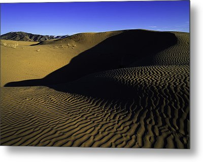 Sand Ripples Metal Print by Chad Dutson