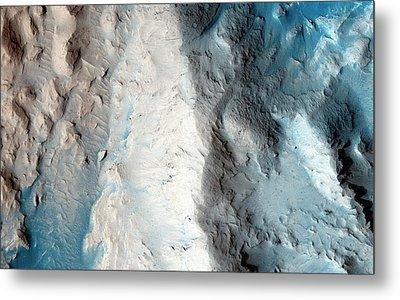Sand Slopes On Mars Metal Print