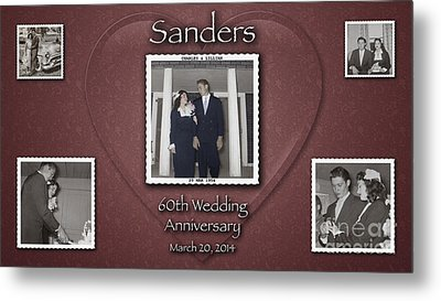 Sanders 60th Anniv Metal Print