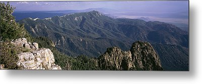 Sandia Mountains, Albuquerque, New Metal Print by Panoramic Images