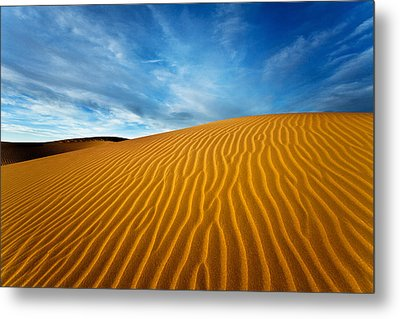 Sands Of Time Metal Print by Darren  White