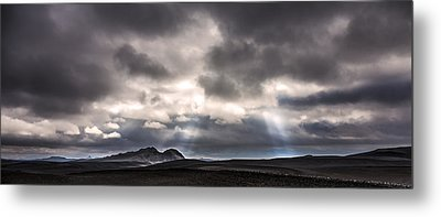 Metal Print featuring the photograph Sands Of Time by Gunnar Orn Arnason
