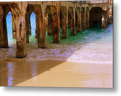 Sands Of Time Metal Print by Karen Wiles