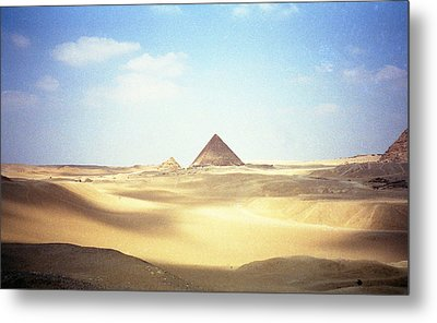 Sands Of Time Metal Print by Robert  Moss