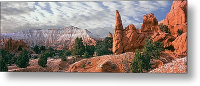 Sandstone Rock Formations, Kodachrome Metal Print by Panoramic Images