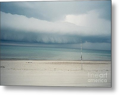 Sandy Neck Beach Sandwich Metal Print by Lisa  Marie Germaine