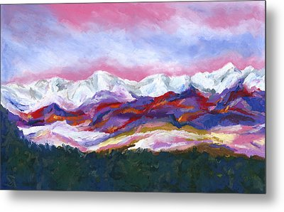 Sangre De Cristo Mountains Metal Print by Stephen Anderson