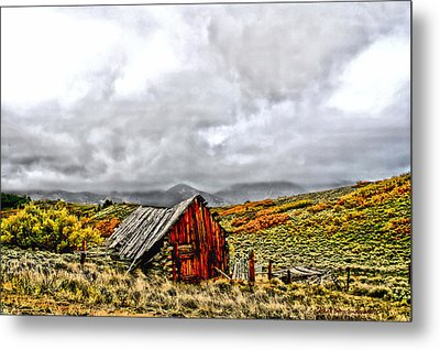 Sangre De Cristos Metal Print by Rebecca Adams