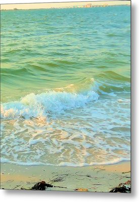 Metal Print featuring the photograph Sanibel At Sunset by Janette Boyd