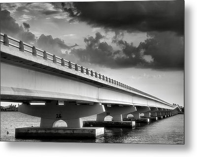 Sanibel Causeway II Metal Print by Steven Ainsworth