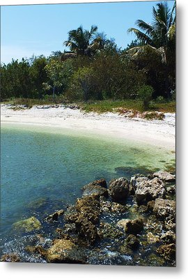Sanibel Cove Metal Print
