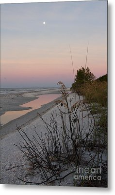 Sanibel Moonrise Metal Print