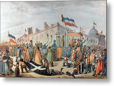 Sans-culottes Parade, 1793 Metal Print by Granger