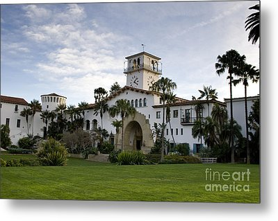 Metal Print featuring the photograph Santa Barbara by David Millenheft