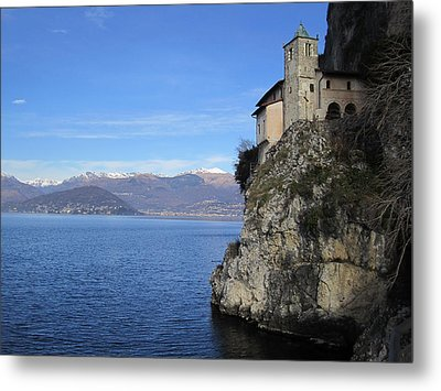 Metal Print featuring the photograph Santa Caterina - Lago Maggiore by Travel Pics