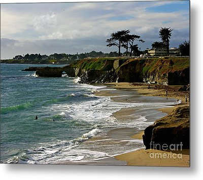 Santa Cruz Beach Metal Print