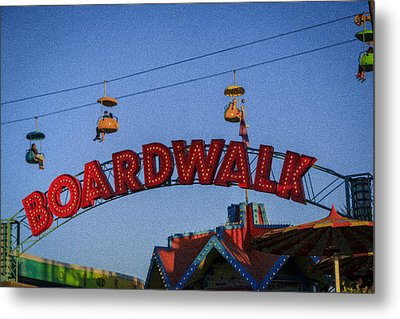 Santa Cruz Boardwalk 1 Metal Print