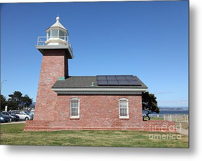 Santa Cruz Lighthouse Surfing Museum California 5d23942 Metal Print
