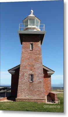 Santa Cruz Lighthouse Surfing Museum California 5d23944 Metal Print